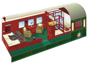 Rovos Rail Royal Suite