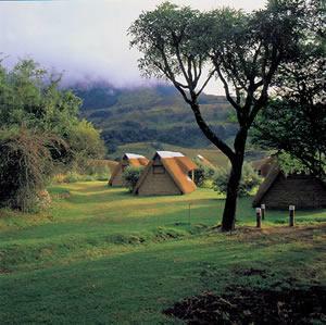 Tents used while on Hiking Safari