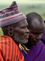 Masai Elder in the Serengeti