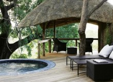 Varty Camp Plunge Pool and Sala